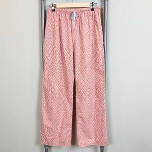 Vineyard Vines Pink Pajama pants Sea shells print